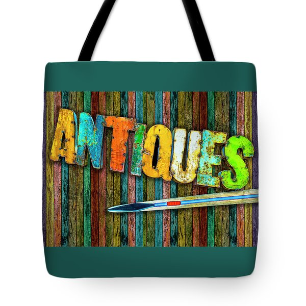 Tote Bag featuring the photograph Antiques by Paul Wear