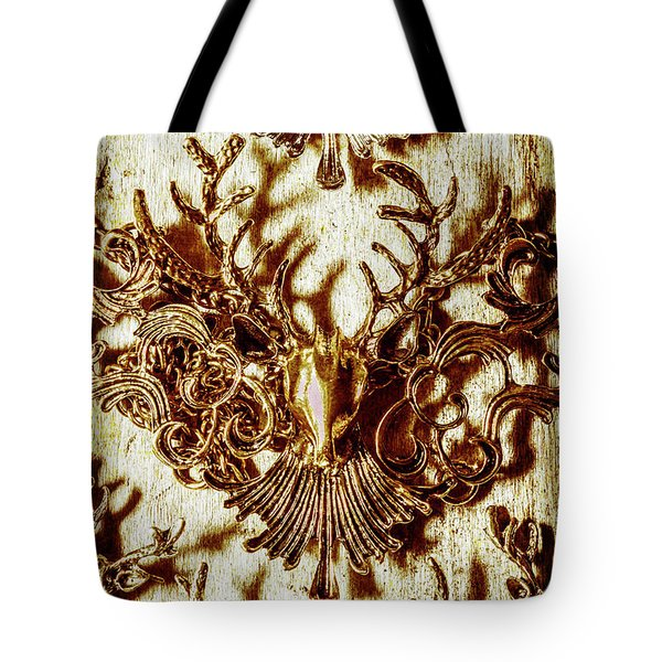 Antler Antiquities Tote Bag