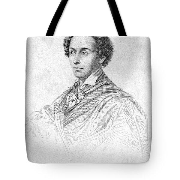 Antonin Car�me (1783-1833) Tote Bag by Granger