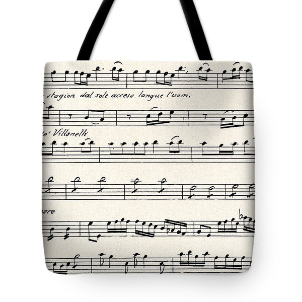 Antonio Vivaldi  The Four Seasons Tote Bag