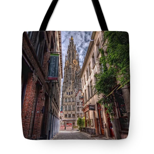 Antwerp Cathedral Tote Bag