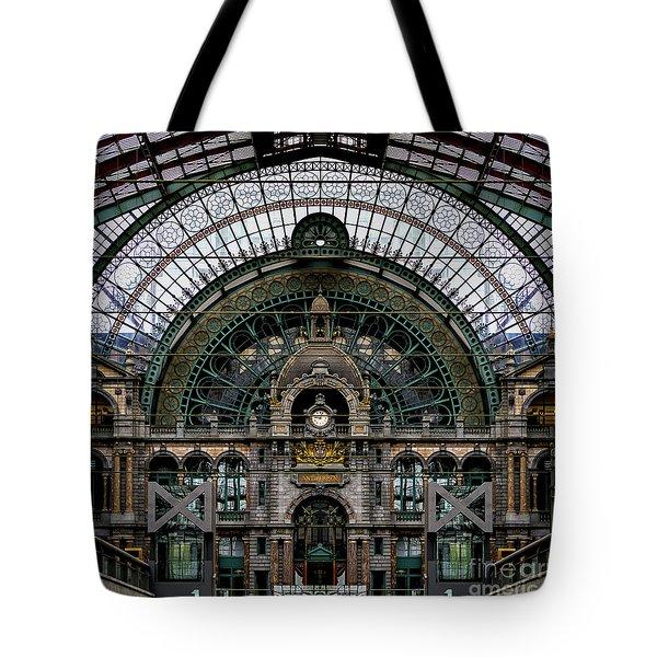 Antwerp Train Terminal Tote Bag