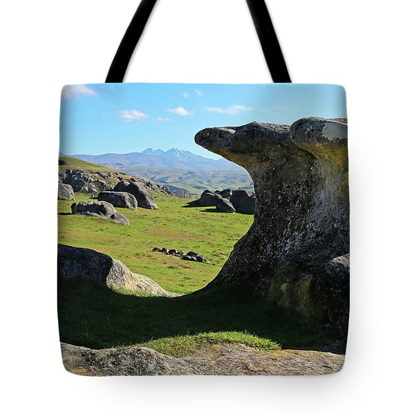 Anvil Rock Tote Bag by Nareeta Martin