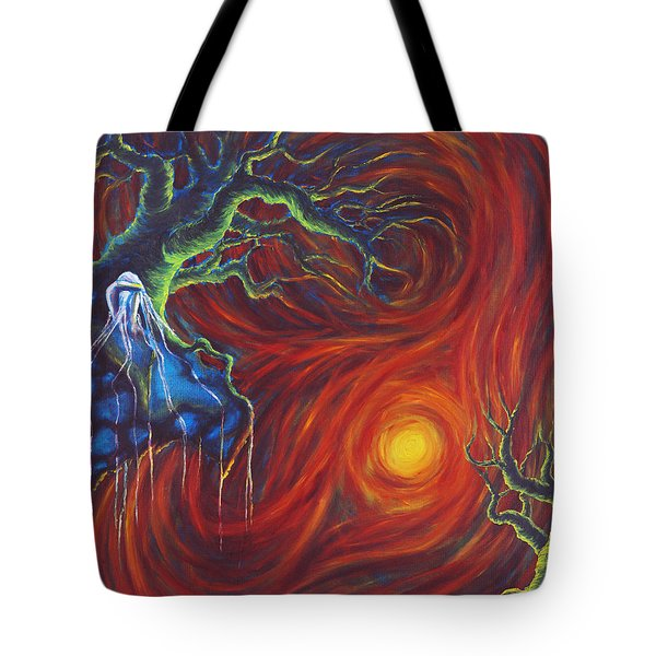 Anxiety Tote Bag by Jennifer McDuffie