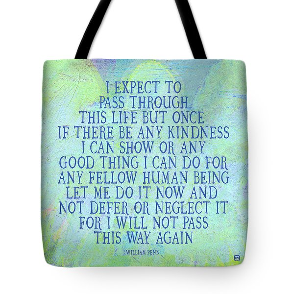 Any Good Thing Tote Bag