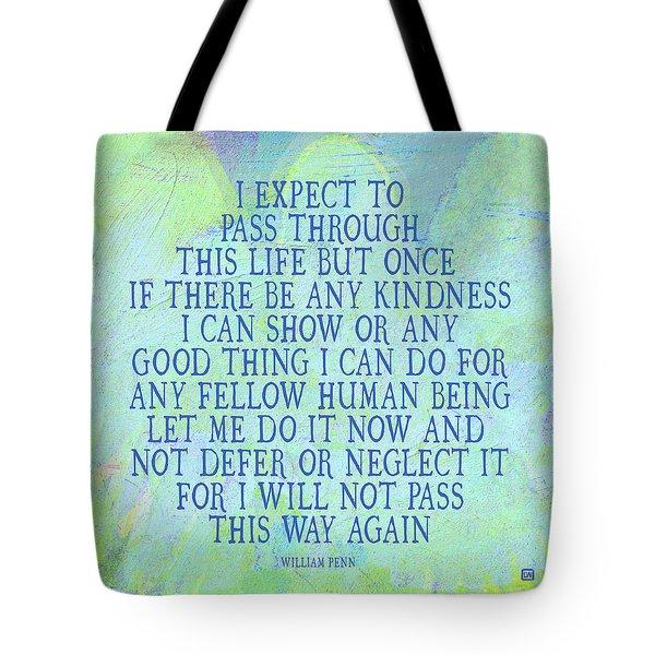 Any Good Thing Tote Bag