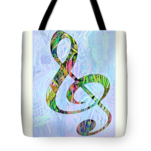 Any Kind Of Music Will Do Tote Bag