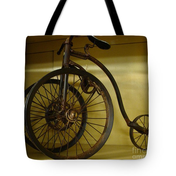 Anyone For A Bike Ride?  Tote Bag by Rod Jellison