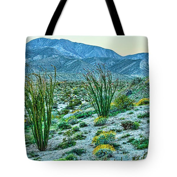 Anza Borrego Twillight Tote Bag