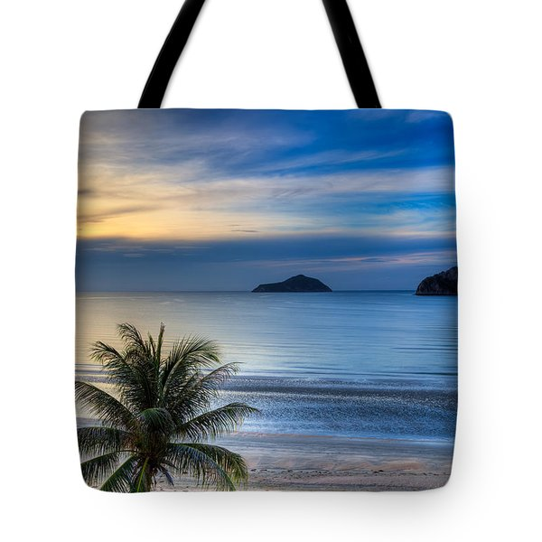Tote Bag featuring the photograph Ao Manao Bay by Adrian Evans