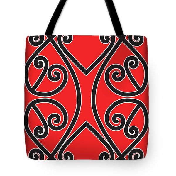 Tote Bag featuring the digital art Aotearoa Koru by Brian Gibbs