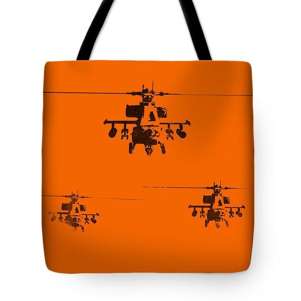 Apache Dawn Tote Bag by Pixel  Chimp