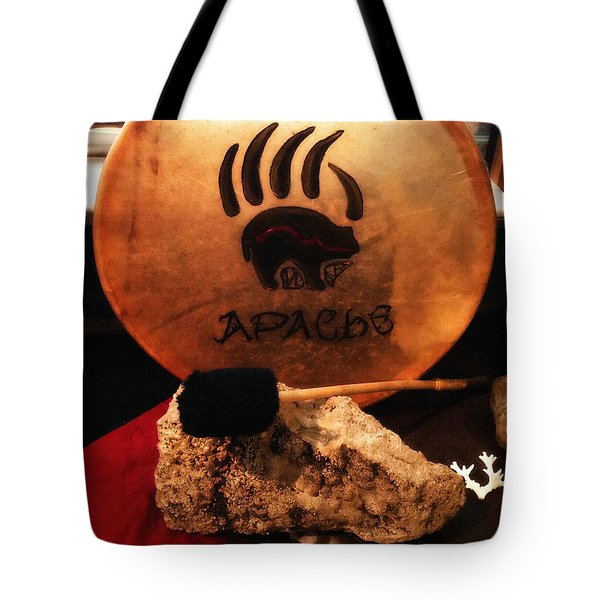 Apache Drum Tote Bag