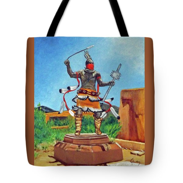 Apache Mountain Spirit Dancer Tote Bag