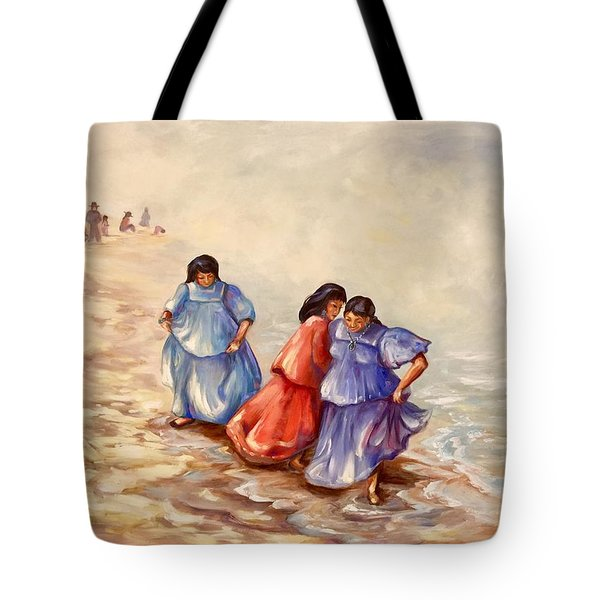 Apache Ocean Dance Tote Bag