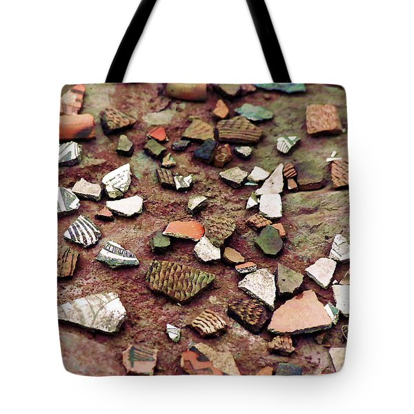 Apache Pottery Shards Tote Bag