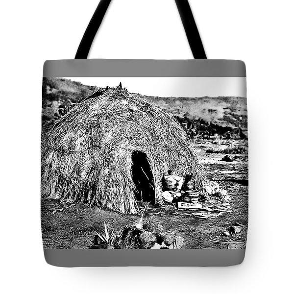 Apache Wikiup Tote Bag