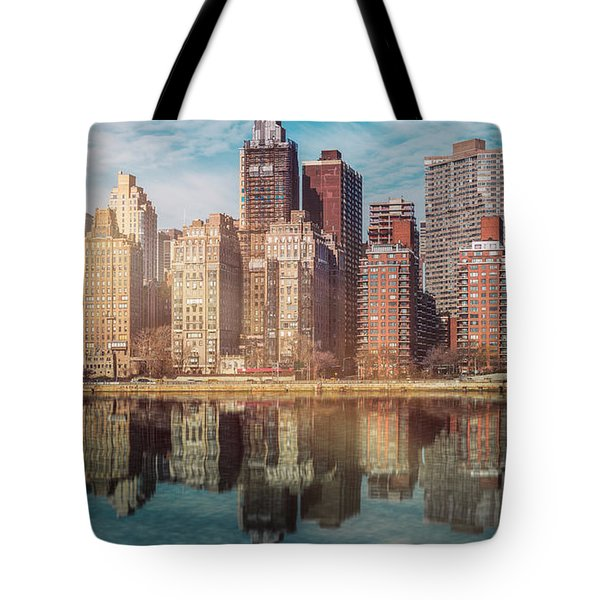 Apartment Blocks  Tote Bag