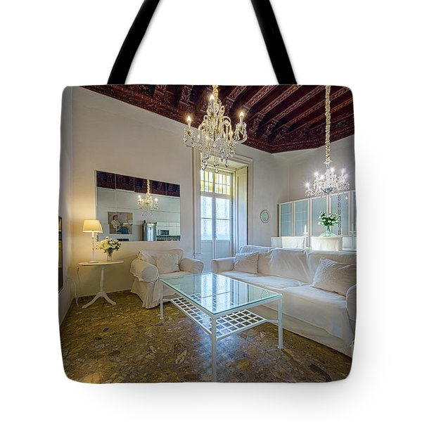 Tote Bag featuring the photograph Apartment In The Heart Of Cadiz 17th Century by Pablo Avanzini