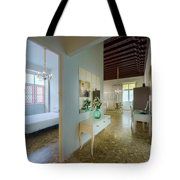 Tote Bag featuring the photograph Apartment In The Heart Of Cadiz 17th Century Spain by Pablo Avanzini