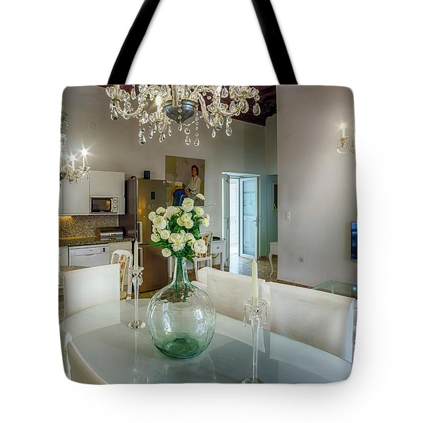 Tote Bag featuring the photograph Apartment In The Heart Of Cadiz Spain 17th Century by Pablo Avanzini