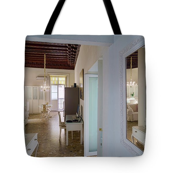 Tote Bag featuring the photograph Apartment In The Heart Of Cadiz Spain by Pablo Avanzini