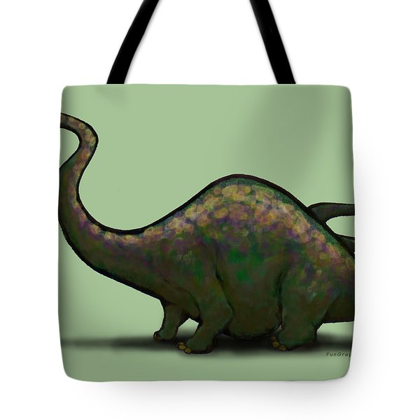 Apatosaurus  Tote Bag by Kevin Middleton