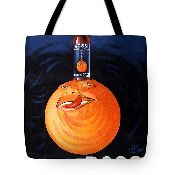 Aperitivo Rossi - Alcoholic Beverages - Vintage Advertising Poster Tote Bag