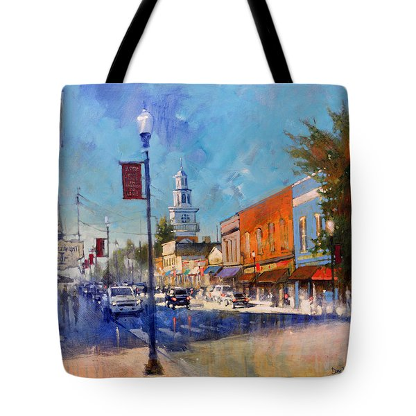 Apex Sunday Morning Tote Bag