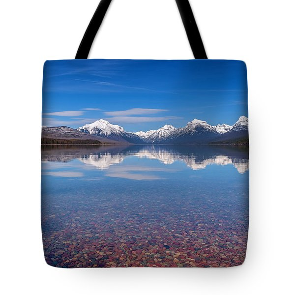 Apgar Beach Rocky Shore Tote Bag