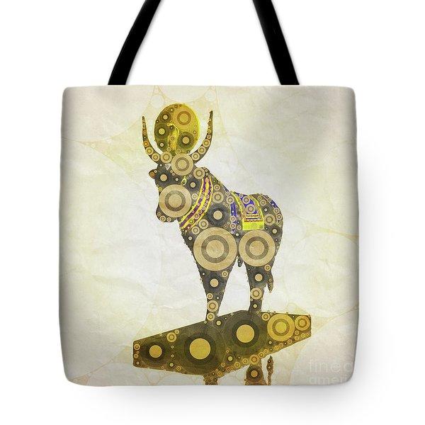 Apis God Of Egypt By Mary Bassett Tote Bag