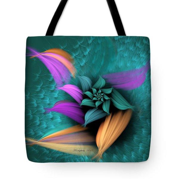 Apo Flower Tote Bag