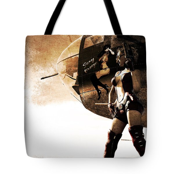 Apocalypse War 1 Tote Bag