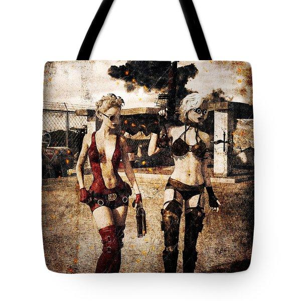 Apocalypse War 2 Tote Bag