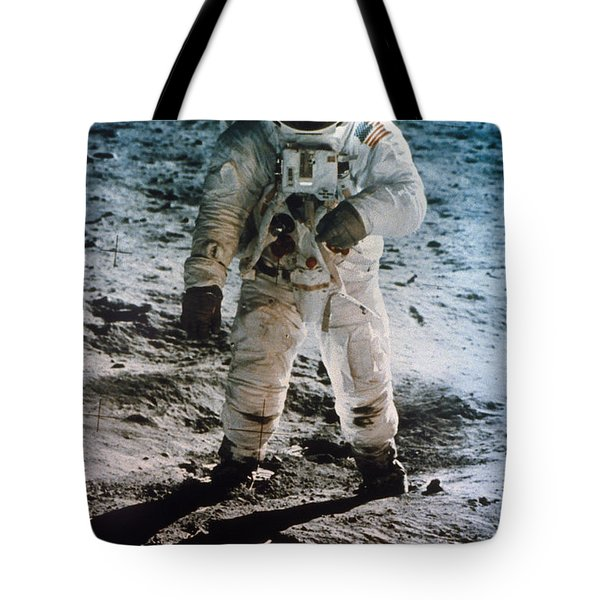 Apollo 11 Buzz Aldrin - To License For Professional Use Visit Granger.com Tote Bag