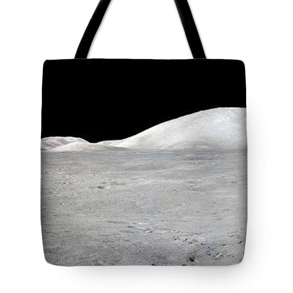 Apollo 17 Panorama Tote Bag by Stocktrek Images