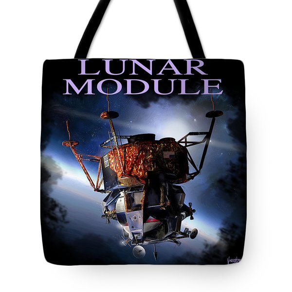 Apollo 9 Lm Tote Bag