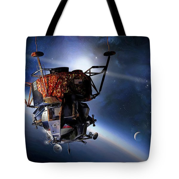 Apollo 9 Lunar Module Tote Bag