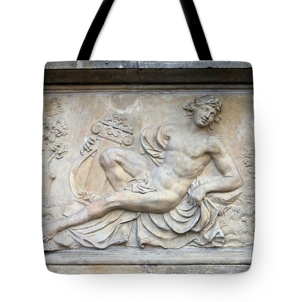 Apollo Relief In Gdansk Tote Bag