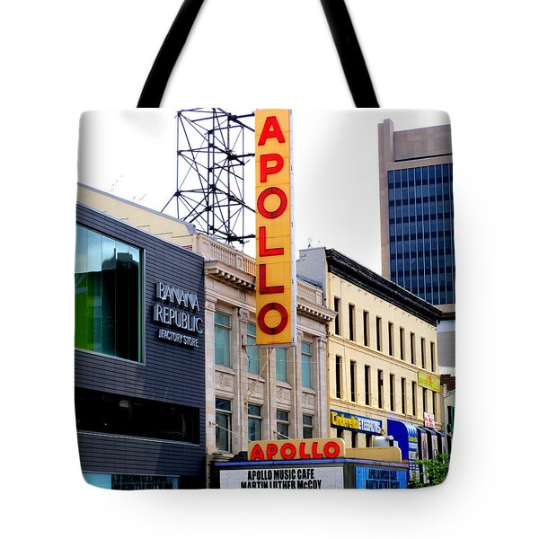 Apollo Theater Tote Bag by Randall Weidner