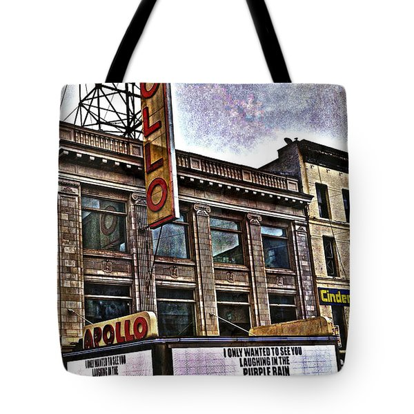 Apollo Theatre, Harlem Tote Bag