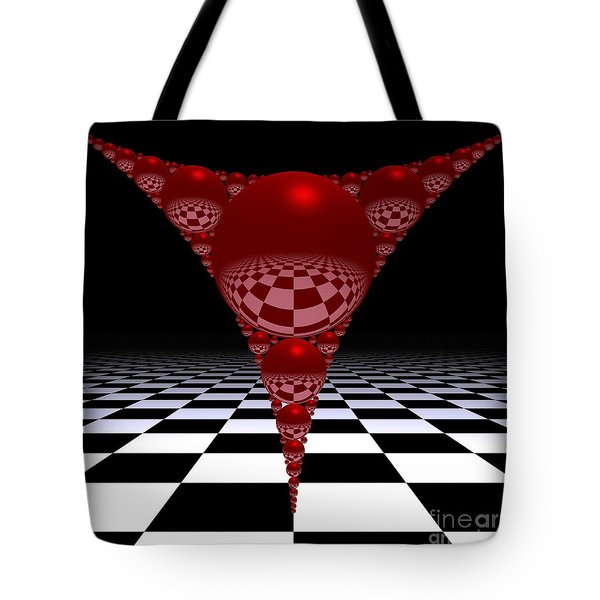 Apollonian Gasket And Reflections Tote Bag