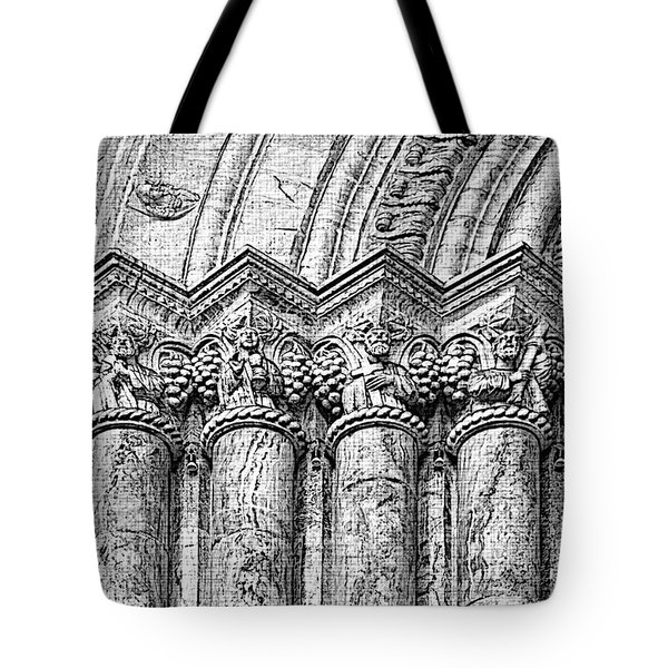 Apostles On Immaculate Conception II Tote Bag by Al Bourassa