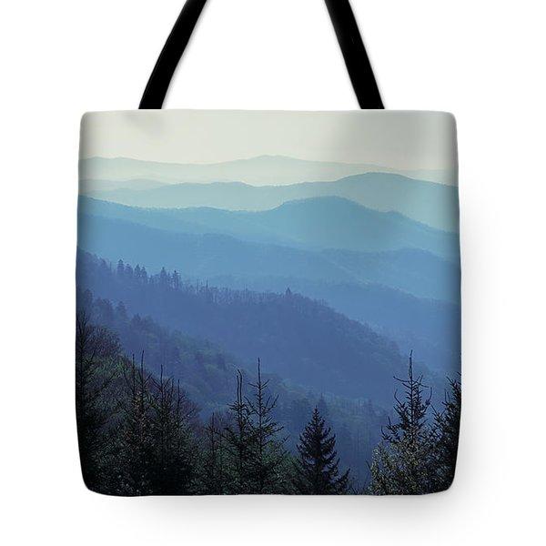 Appalachian Blue Tote Bag