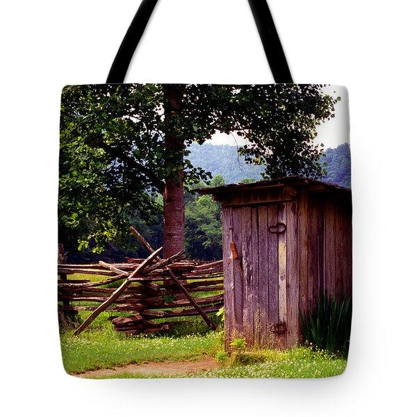 Appalachian Hill-ton Tote Bag