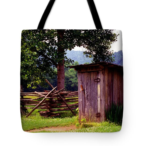 Appalachian Hill-ton Tote Bag