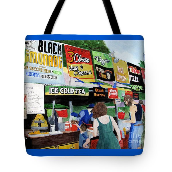 Appalachian Picnic Tote Bag