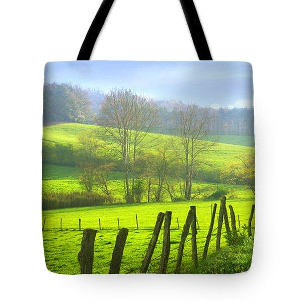 Appalachian Spring Morning Tote Bag by Francesa Miller