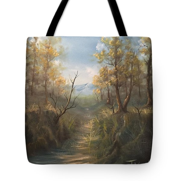 Appalachian View  Tote Bag