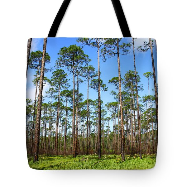 Appalachicola National Forest Tote Bag